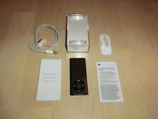Apple iPod Nano 5. generación negro 8gb con ligero defecto (menú de tecla)
