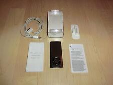 Apple iPod Nano 5. Generation negro 8gb con ligero defecto (menú de tecla)