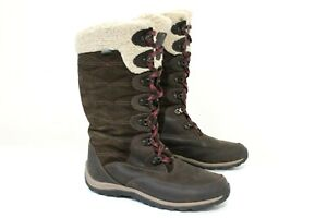 Timberland Women's Size 9 Earth Keepers Willowood WP Brown Boot 200g Pimaloft