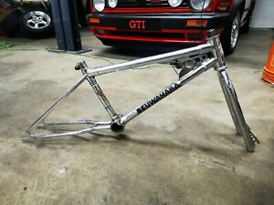 1982 kuwahara Apollo bmx bike frame factory chrome vintage old school