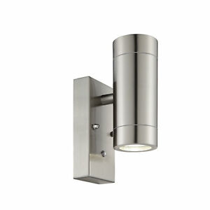 PALIN Outdoor Up/Down Wall Light LUX Sensor Photocell Dusk-Dawn Waterproof IP44