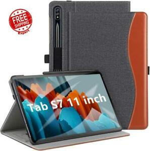 Case for Samsung Galaxy Tab S7 11 Inch 2020 Premium PU Leather Folio Stand Cover