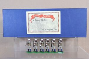 TROPHY MINIATURES INDIAN MUTINY SIKH INFANTRY MARCHING BOXED SET 6 pjm