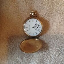 Vintage ELGIN Pocket Watch Gold Plated