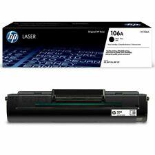 TONER ORIGINALE NERO HP 106A W1106A Laser MFP 137fwg Laser 107w MFP 135wg