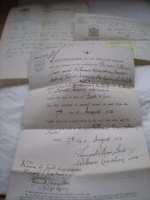 Dissolution Of Partnership For LONDON GAZETTE Notice etc Dated 1912 Name - Scott
