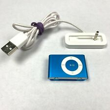 Apple iPod Shuffle 2nd Generation Blue 1GB Clip On A1204