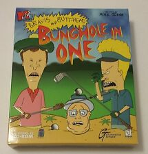 NEW SEALED BIG BOX PC -- MTV's Beavis and Butt-Head: Bunghole in One (PC, 1999)