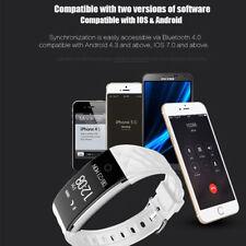BNIB Bluetooth Smart Band Bracelet Heart Rate Pedometer Fitness Tracker RRP79.99