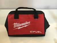 """New Milwaukee FUEL 13"""" x 10"""" x 9 Canvas Drill, Tool Bag - Case For M12 M18"""