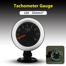 UNIVERSALI 2'' 52MM MOTO AUTO LED DIGITAL TACHIMETRO RPM CONTAGIRI MANOMETRO