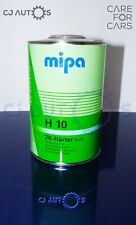 MIPA 2K ACRYLIC H10 FAST ACTIVATOR HARDENER CATALYST PAINT PRIMER LACQUER 1Litre