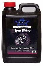 Car Tyre shine Trade Valet Tyre Slik Instant Dressing On Or Brush 1Litre