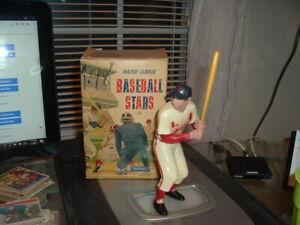 1958 - 1962 Hartland Plastics Statue Stan Musial with Original Bat and Box NICE!