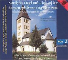 """MUSIK FR ORGEL UND ZINK AUF DER """"LTESTEN SPIELBAREN ORGEL DER WELT NEW CD"""