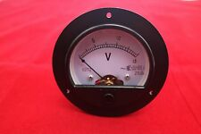 AC 0-15V Round Analog Voltmeter Voltage Panel Meter  Dia. 90mm directly Connect