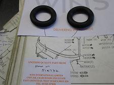 ROVER p6 TERGICRISTALLO RUOTA casella guarnizioni di gomma-Coppia (si inserisce in PONTE ANTERIORE pannello)