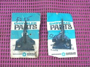 1969 1970 Plymouth Dodge Chrysler Imperial C-Body NOS MoPar W/S WASHER NOZZLES