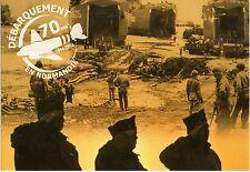 WW2 - CP -  Débarquement en Normandie - 70 ans - 1944-2014