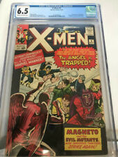 X-MEN #5  CGC 6.5  CR/OW PAGES   2ND SCARLET WITCH