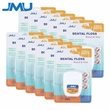 12packs Dental Oral Floss Waxed Amp Mint Teeth Cleaner 50yds Doctor Recommend Fda