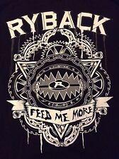 WWE Ryback Long Sleeve t-Shirt XL Feed Me More The Big Guy Feeding Time NXT TNA