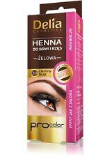 Delia HENNA TINT GEL Eyebrow & Eyelash DARK BROWN  for 15 Applications