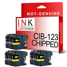 12 Chipped Ink Cartridges for Brother DCP-J132W DCP-J152W MFC-J870DW