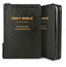 History of Redemption KJV Bible Large Leather Zipper Combined Ellen White Books