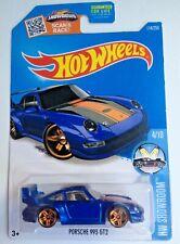 Hot Wheels Porsche 993 GT2 - blue