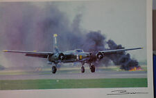 Guy Brochot Douglas A-26 Invader United States Air Force Postcard