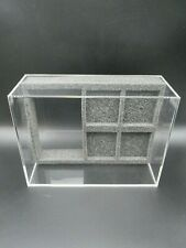 1x Ninodo Acrylglas Box Für 1 GameBoy & 4 Spiele - OHNE SPIELE - OHNE Konsole