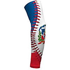 Dominican Republic Baseball lace Arm Sleeve L -single
