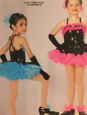 Dance Costume Jazz Tap Skate  Art Stone Small Child Flashbulb