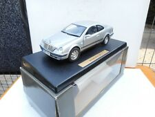 ANSON 1/18 MERCEDES BENZ CLK COUPE 230 COMPRESSOR SILVER GREY DEALER BOX RARE!!