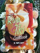 The El Paso Chili Co - RUM & TIKI COOKBOOK - 2000 - FIRST Edition HB DJ