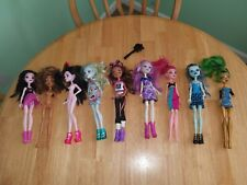 Monster High Dolls Clothes Shoes Accessories Lot 9 Dolls Mattel