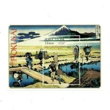 VINTAGE CLASSICS - Sierra Leone - Hokusai - Souvenir Sheet - MNH