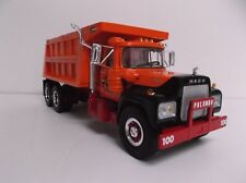1:34 1st First Gear Palumbo Mack R-Model Dump Truck Mint 18-2431