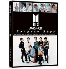 KPOP BTS Official Photo Album Bangtan Boys Poster + Bookmarks