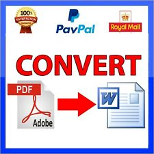 PDF to Word Converter Pro Convert Text Image Windows XP,Vista,7,8,10