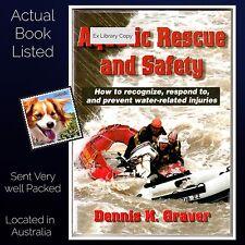 Aquatic Rescue and Safety Dennis K Graver Paperback Ex Library Copy, VG