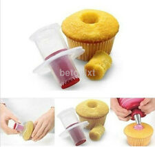 Party Cupcake Cake Corer Plunger Cutter Pastry Decorating Divider Filler Model f