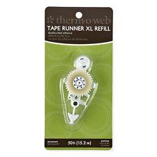 Tape Runner REFIL  (Memory) XL - Permanent 15m (50ft) For Scrapbooking & Paper