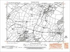 Upper Dean, Swineshead, Melchbourne, Yielden (E), old map Beds 1950: 4NE