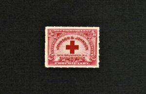 #RS286 5/8c Johnson & Johnson Proprietary 1898 MNH.