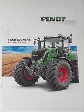 FENDT 800 VARIO Traktoren Prospekt 09/12 ( Fendt 110 )