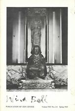 WIND BELL VIII:3-4 Spring 1969 SAN FRANCISCO ZEN CENTER, BUDDHIST, SUZUKI ROSHI