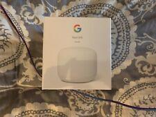 NEW Google Nest GA00595-US AC2200 MU-MIMO Dual-band Wi-Fi Router (Snow White )