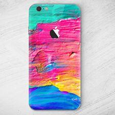 Croquis iPhone 7, funda protectora Soft Cover Case bolso motivo slim bumper TPU Brush